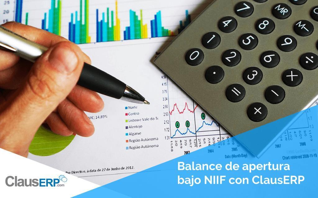 Balance de apertura bajo NIIF con ClausERP