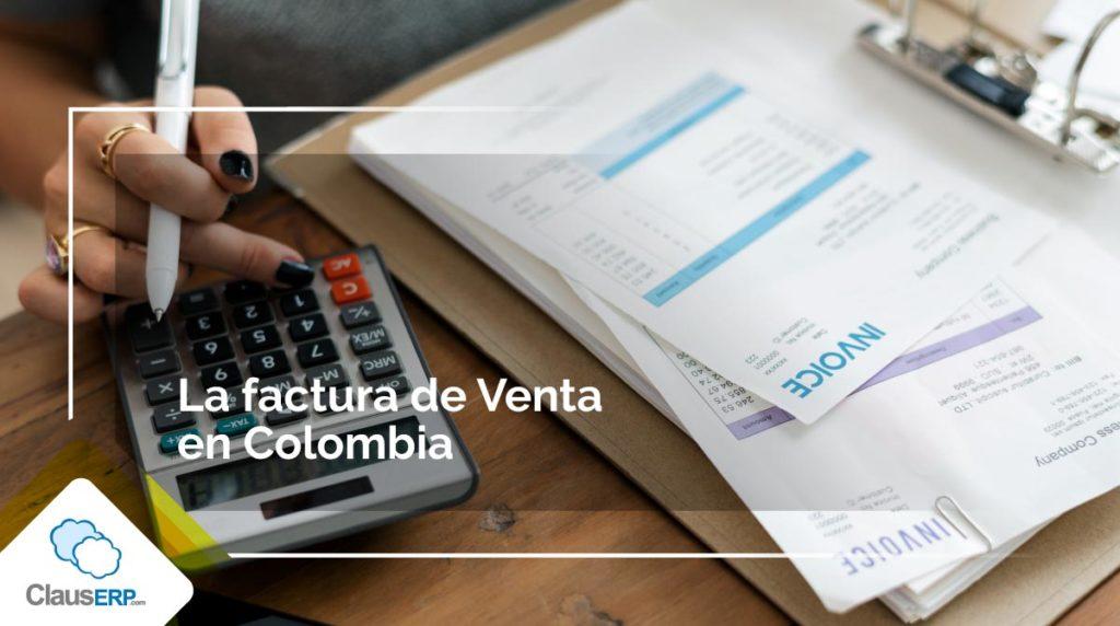 Factura de venta en Colombia