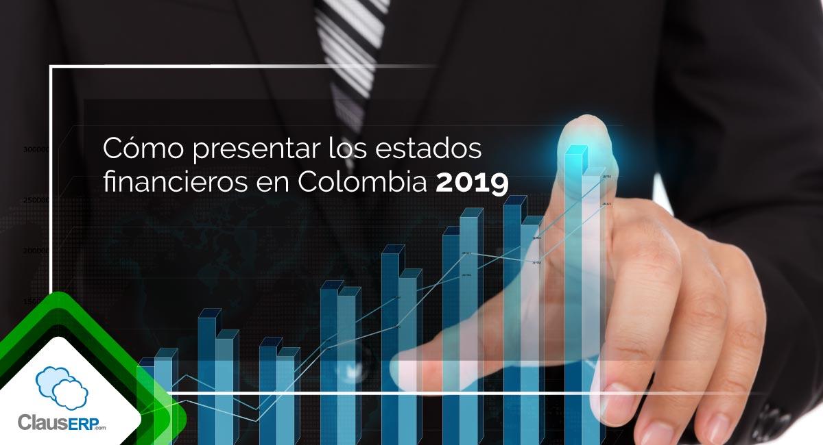 Como presentar estados financieros en colombia 2019