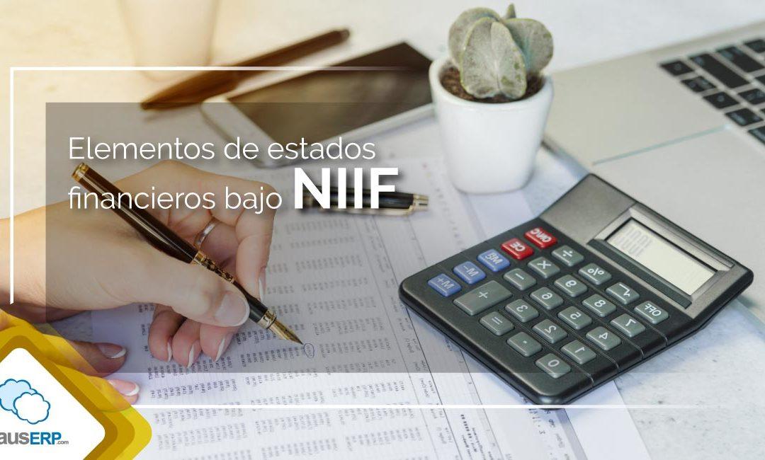 Elementos Estados Financieros NIIF